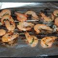 Ce soir, barbecue d'été: crevettes marinées à la coriandre