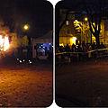 Quartier drouot - la place du dr hauger s'enflamme...