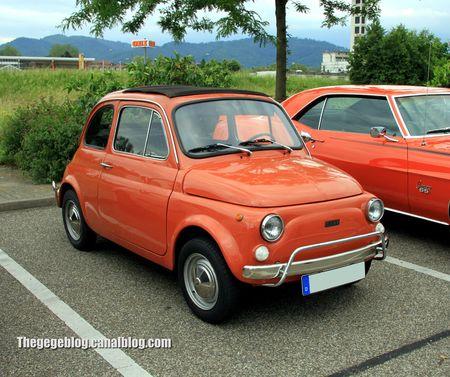 Fiat 500 L (Rencard Burger King juin 2012) 01