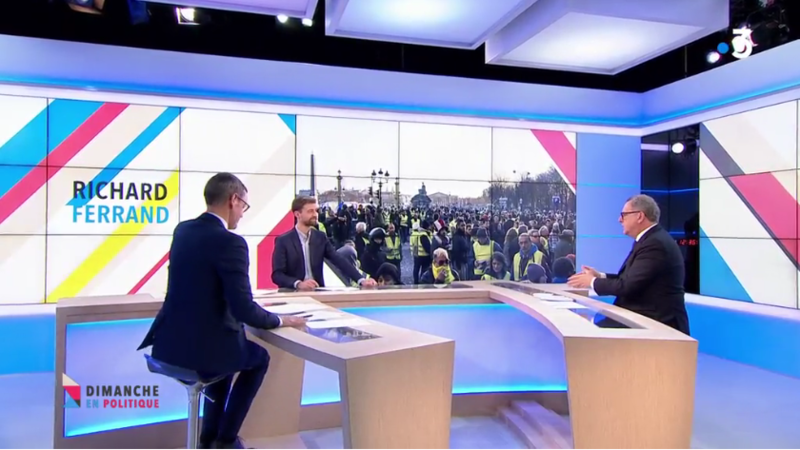 GILETS JAUNES ELECTIONS EUROPEENNES MEDIA DIXIT WORLD