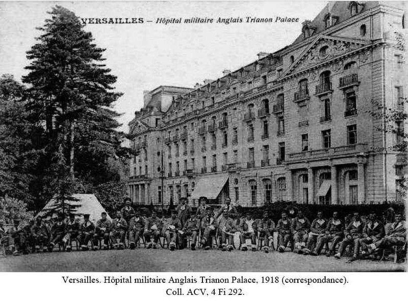 carte Hotel Trianon Vers