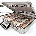 Valise magique du puissant marabout puissant wakilou qui produit 10 million d'euro par jours
