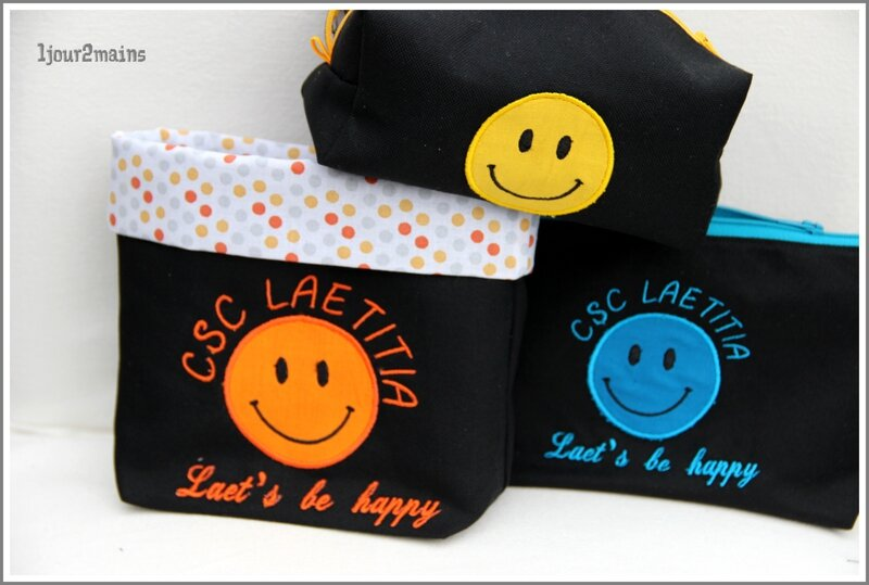 smiley trousse+paniere