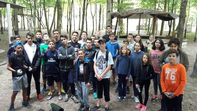 Paintball pour le Club ADO 2