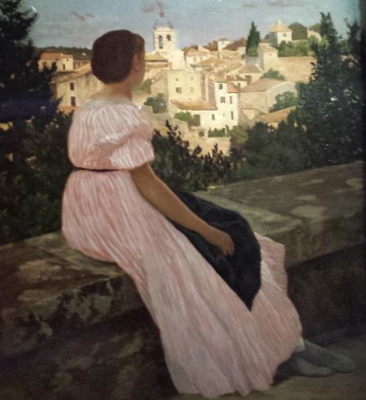 La robe rose de Frédéric Bazille (Musée d'Orsay)