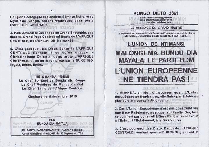 L'UNION EUROPEENNE NE TIENDRA PAS a