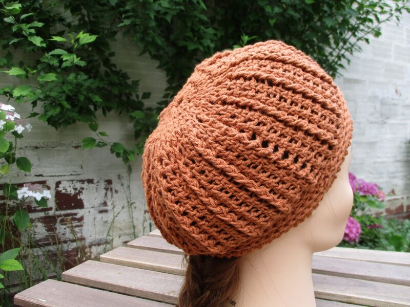 Bonnet simple en fil coton (2)