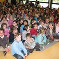 Les enfants de l'école Notre Dame de St Grégoire