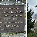 Sainte-Florence (85) – Croix de Royrand (1984)