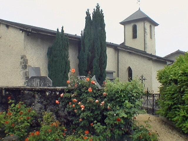 Départ église de Détrier