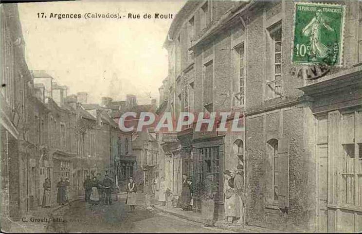 Argences rue de Moult