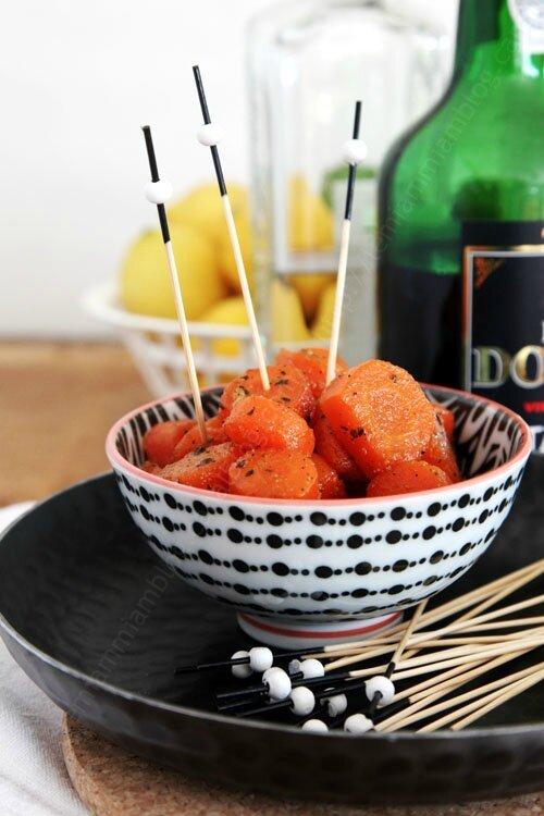 carottes glacees aux epices 0003b LE MIAM MIAM BLOG