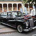 MERCEDES 300D Adenauer Pullmann Landaulet 1960 Baden Baden (1)
