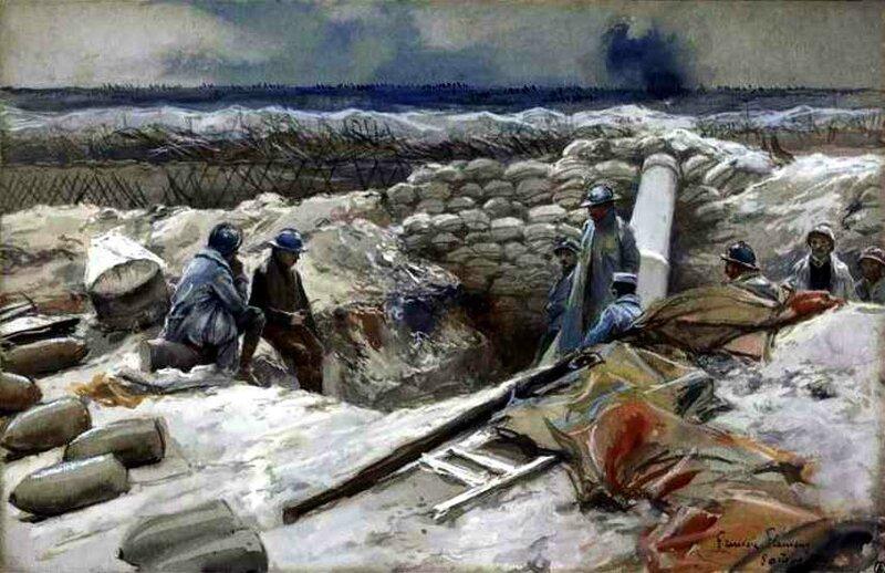 Flameng Souain 08 10 1915