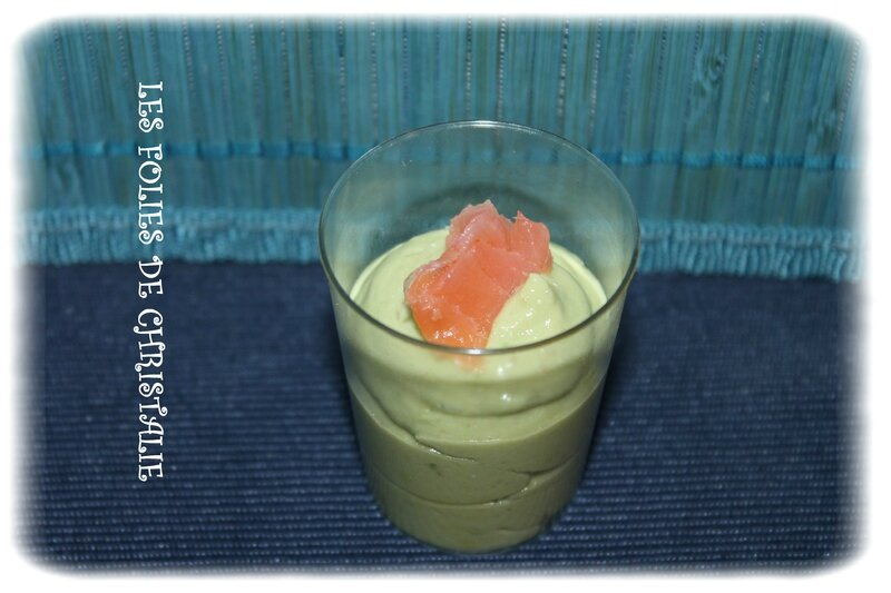 Verrine avocat saumon 3