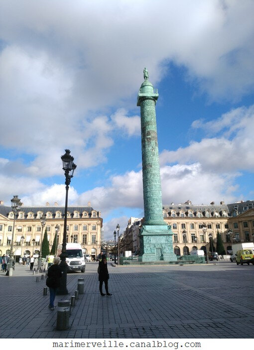 place Vendôme - paris - marimerveille
