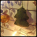 Sapin au tricot!