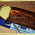 Gâteau au yaourt et au lait de coco