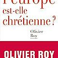 J'ai lu.... olivier roy