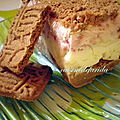 Buche glacée speculoos citron /framboise