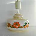 Vintage ... suspension cuisine motif légumes