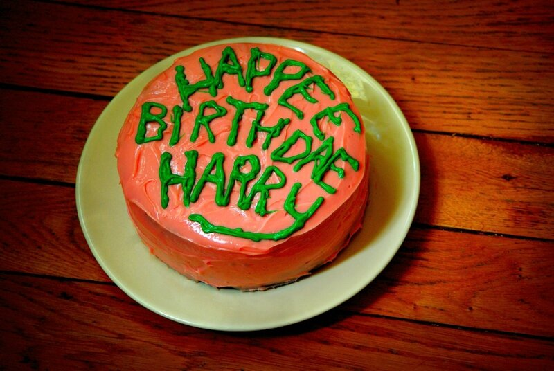 Happee Birthdae Harry 4