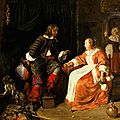 Restituted dutch masterwork 'the rothschild metsu' to be offered at sotheby's new york