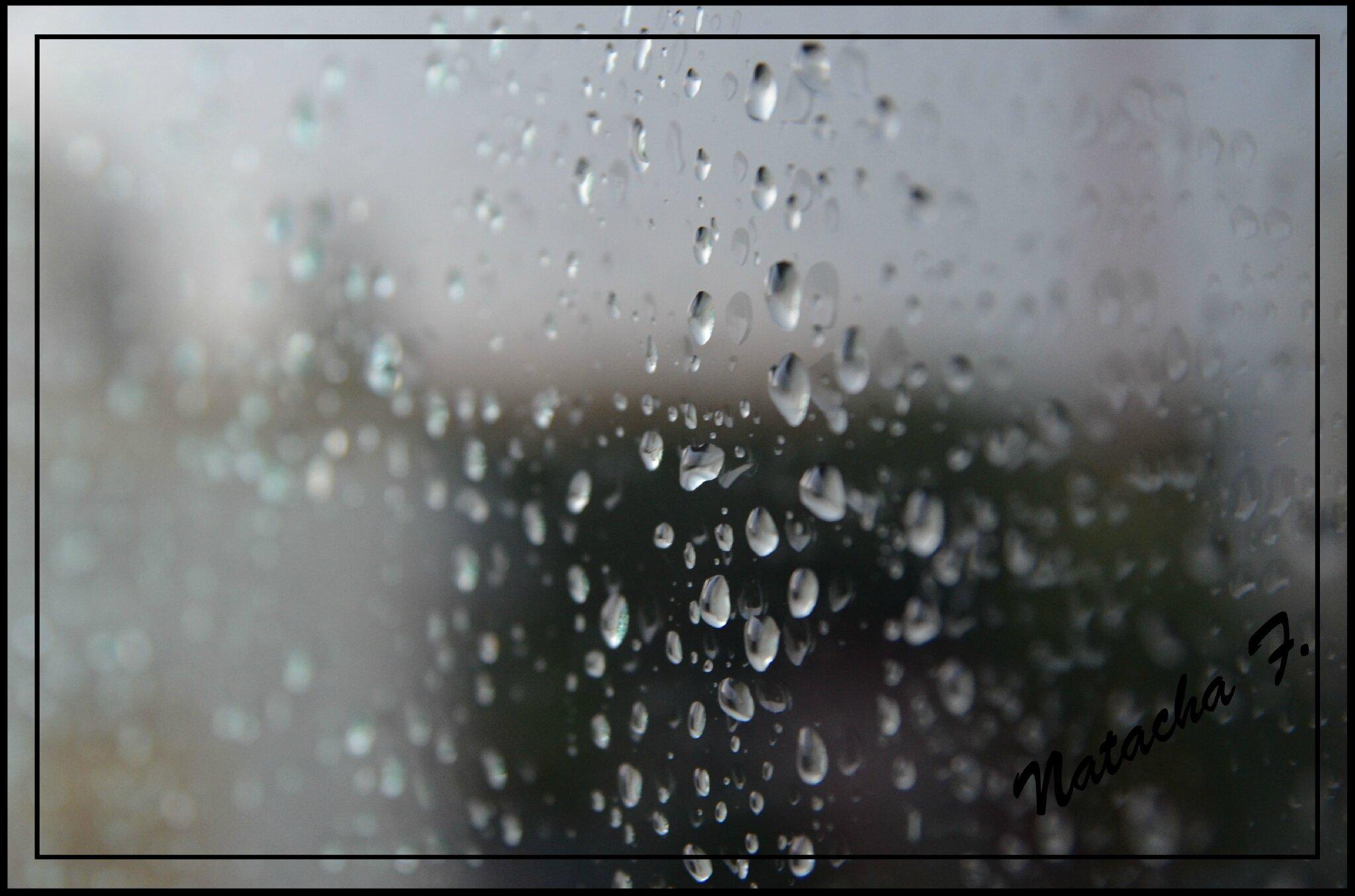 Hauteur Ciel De Pluie et tombe la pluie - la photo: une re-naissance pour re-vivre