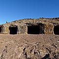 Solstice d'été dans la grotte des 4 portes (4 puertas) île de gran canaria