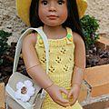 Tuto chapeau et robe pour poupee kidz.