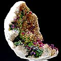 Roselite and cobaltaustinite