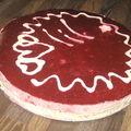 Bavarois aux fruits rouges et chocolat blanc