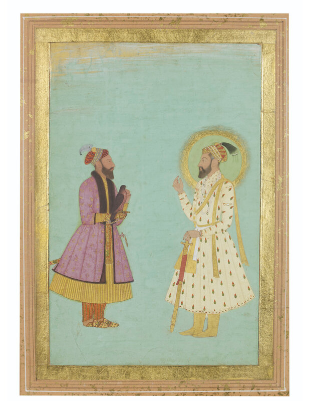 2019_NYR_17464_0257_000(prince_muazzam_bahadur_shah_and_a_courtier_holding_a_falcon_mughal_ind)