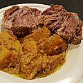 Curry de porc à la citronnelle