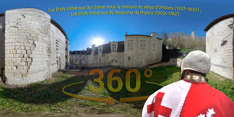 Les États Généraux de Chinon sous la menace du siège d'Orléans (1427-1430) ; Les Etats Généraux du Royaume de France (1302-1789)