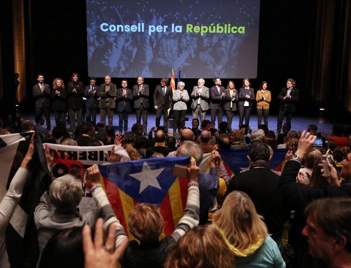 Consell de la Republica à Bruxelles