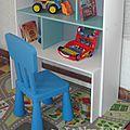 DIY étagère et coffre à jouets
