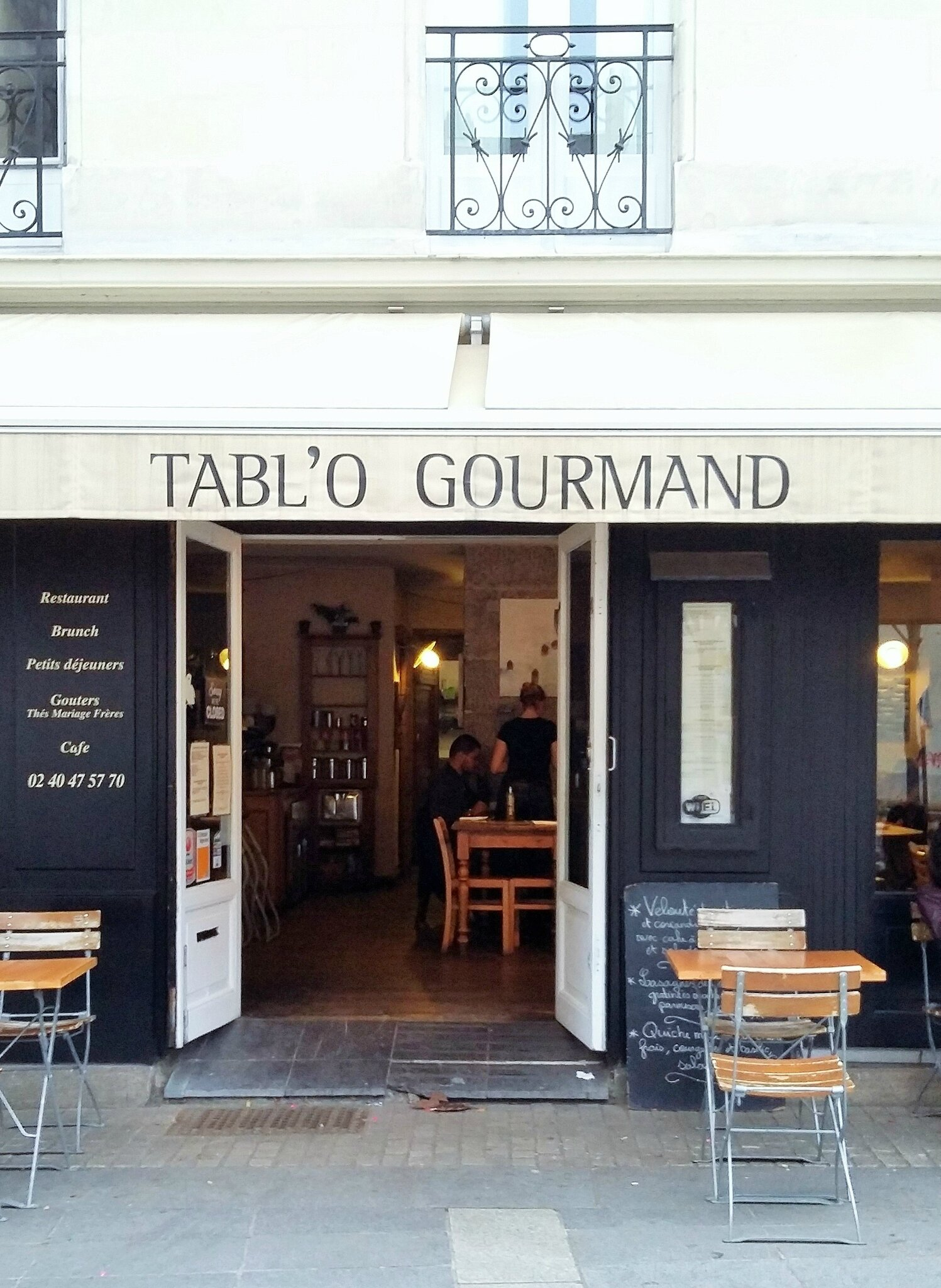 Ma Petite Chaise Nantes bonnes adresses : goûter à nantes, déjeuner à la baule