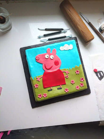 gateau peppa pig