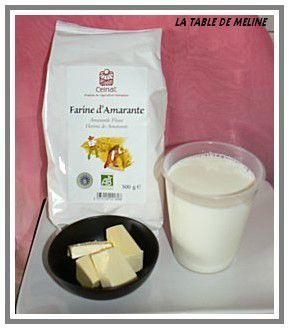 Pain au lait à la farine d'amarante 2