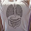 Un tee-shirt anatomique