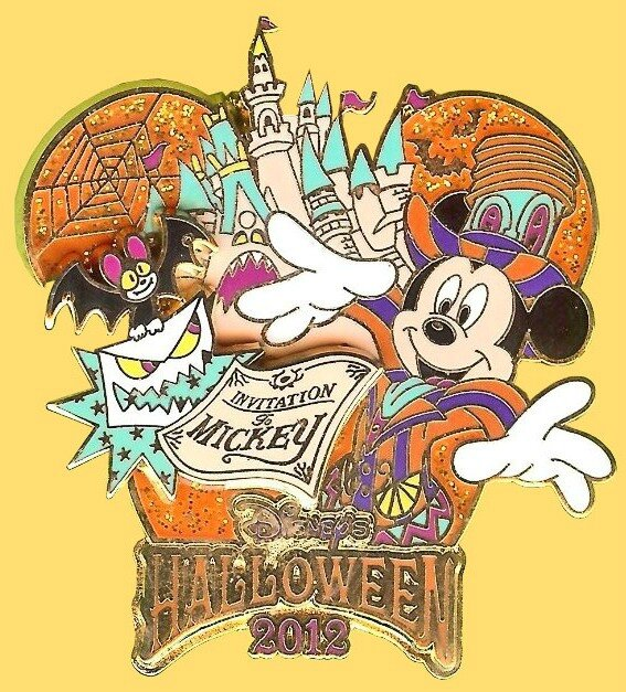 Pin's Halloween 2012 Disney