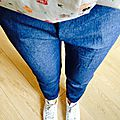 J'ai fait un pantalon