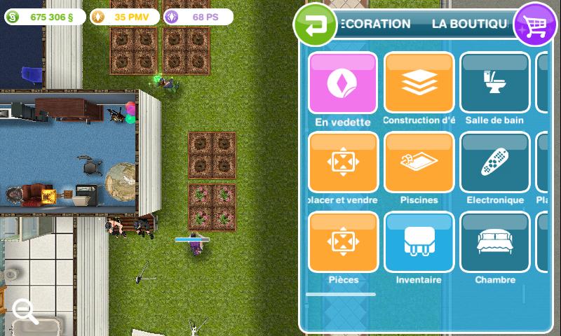 comment ajouter un sims dans sims free play
