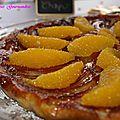 Tarte tain fenouil orange d' olivier chaput
