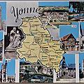 0 Yonne - Datée 1964