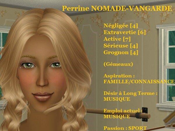 Perrine NOMADE-VANGARDE