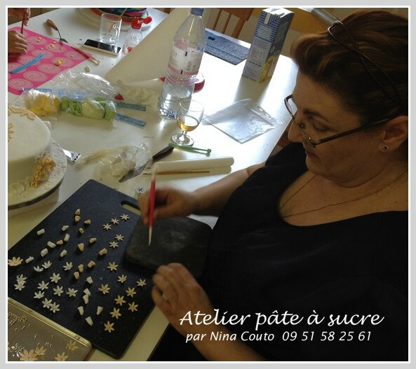 atelier pate a sucre Nina Couto geneve 4