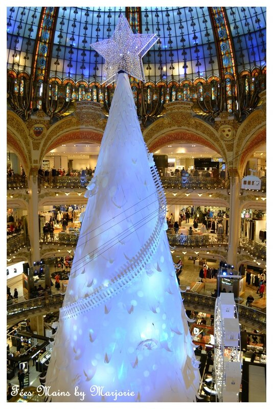 Féerie de Noël Grands magasins Paris Haussmann