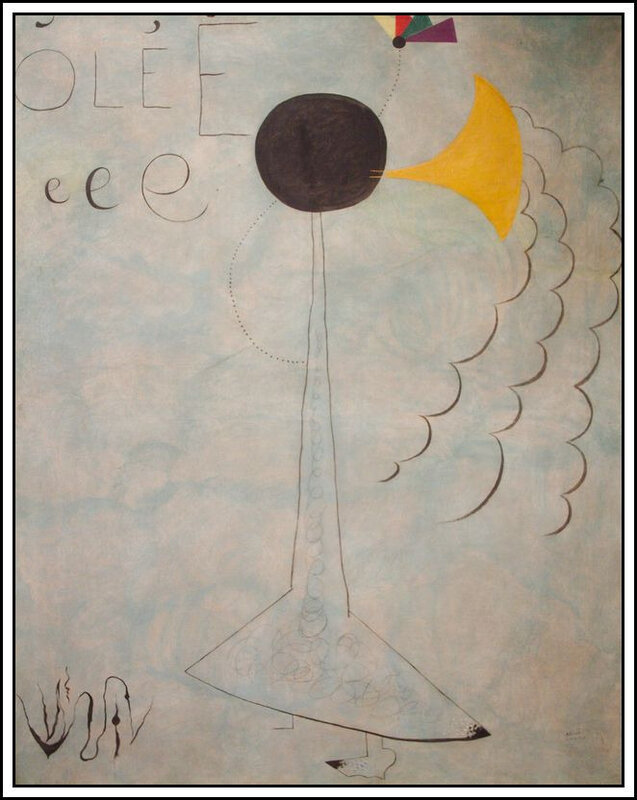 Miro - danseuse espagnole - 1924